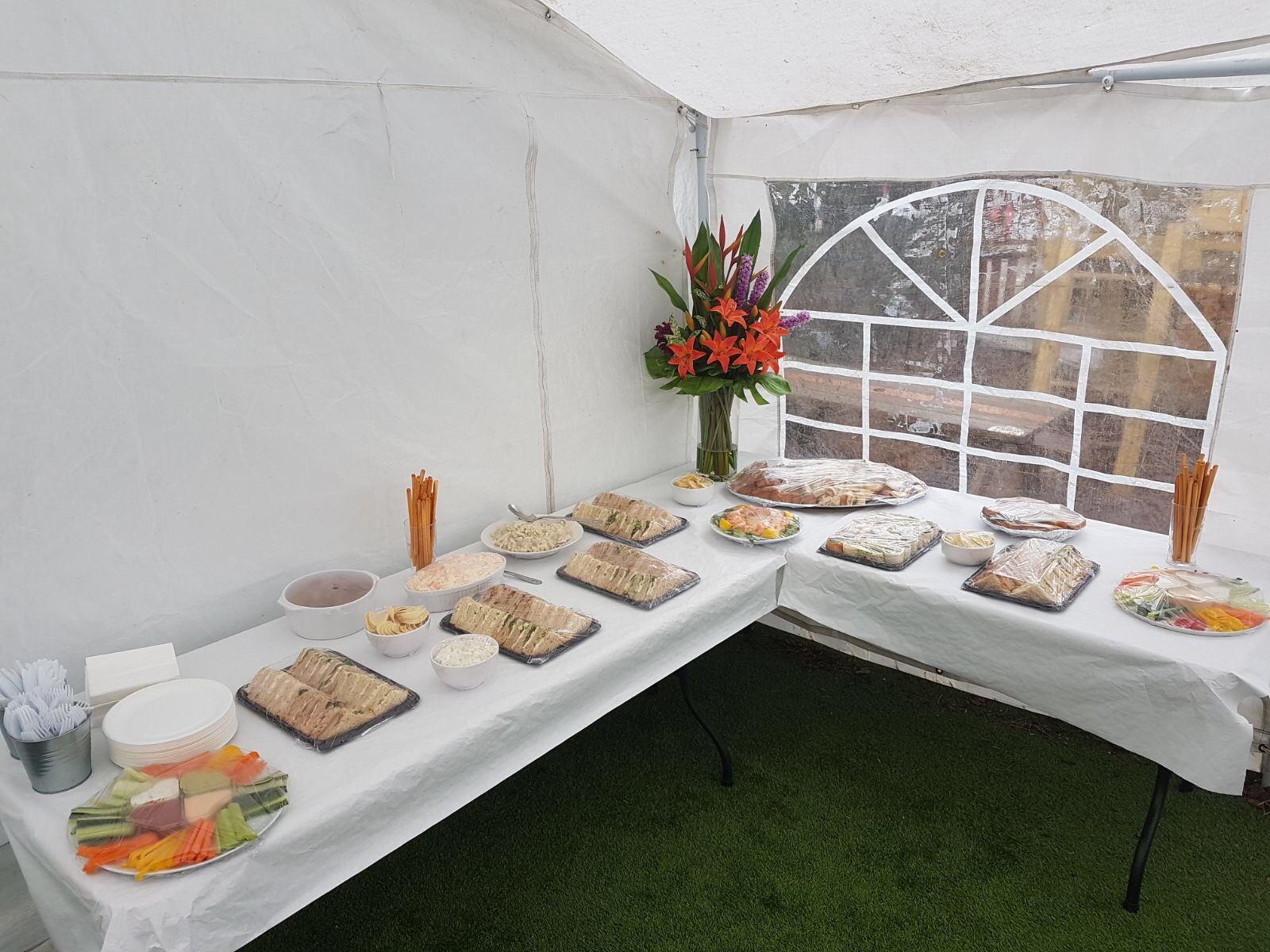 Buffets in the Marquee