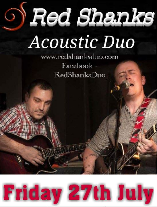Red Shanks Live