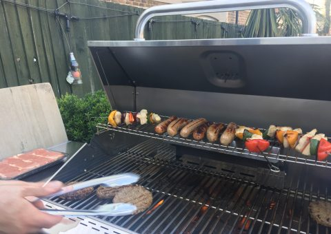 We've got a new BBQ